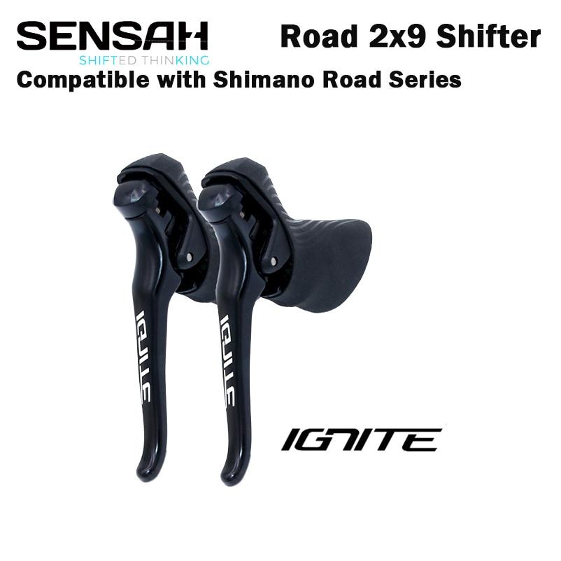 Рычаг переключения передач для дорожного велосипеда SENSAH-IGNITE, 2x8 2x9 рычаг тормоза скорости, R7000 Tiagra Sora sensh empire pro sensh groupset 4700 5800