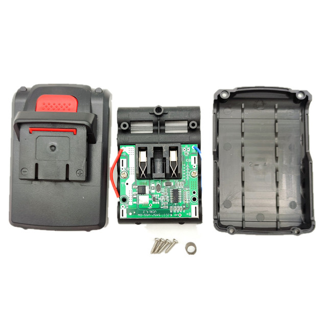 18V Power Tools Battery Case With BMS for 21v Cordless Electric Screwdriver Mini Drill Pcb HENGCHANG Dropshipping