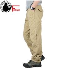 30 40 haute qualité hommes Cargo pantalon Baggy décontracté hommes tactique pantalon Multi poche militaire globale mâle en plein air longue pantalon armée