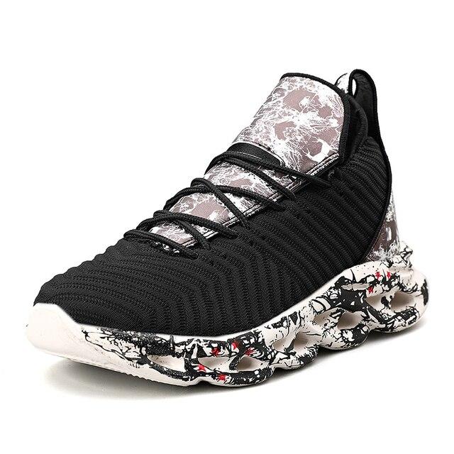 2021 Men Graffiti Sports Shoes -Breathable  6