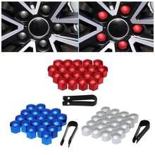 Tapa de tornillo Universal para neumático de coche, Tuercas de rueda decorativas de plástico, 17 Mm, 19mm, 21 Mm, 22 Mm