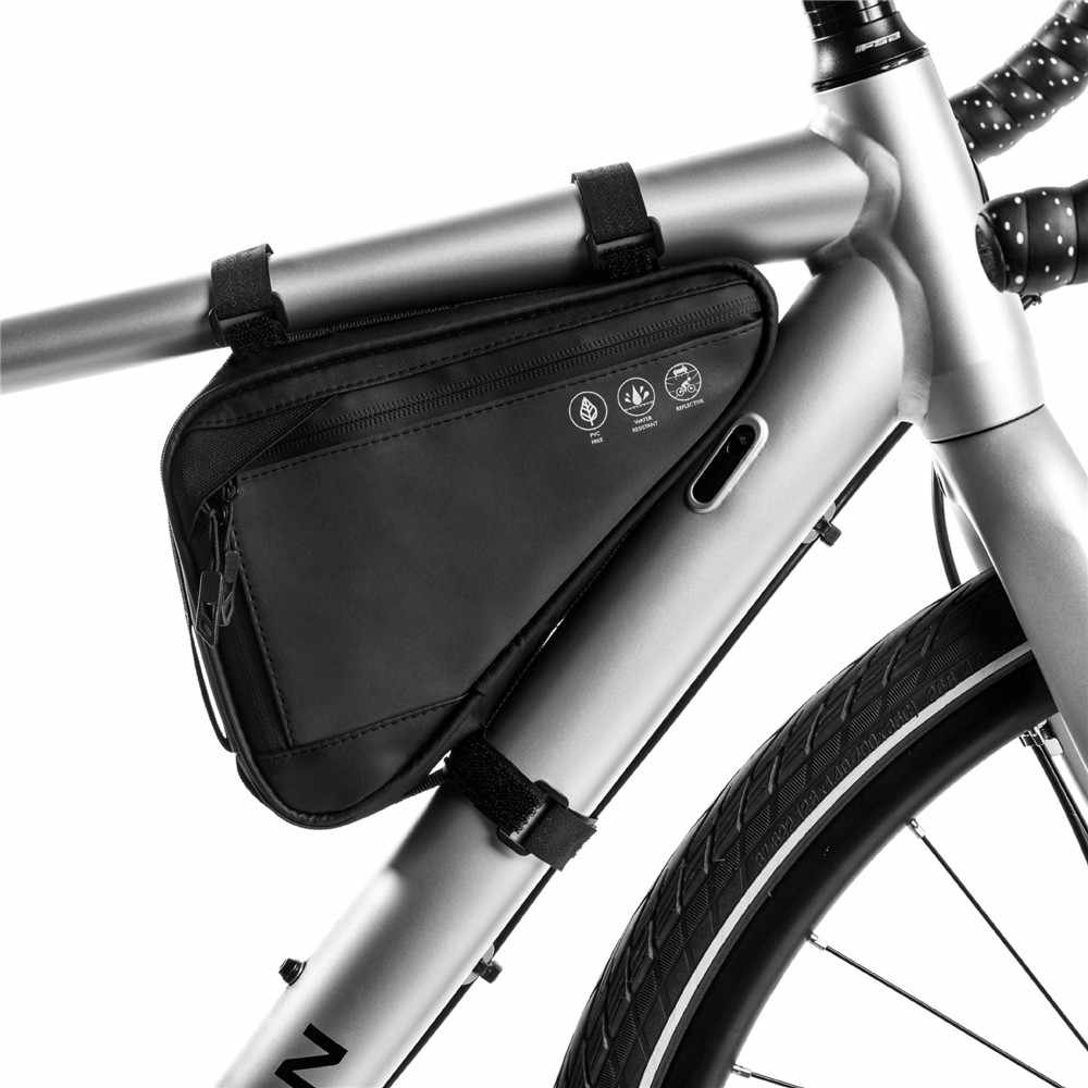Bike Bicycle MTB Cycling Triangle Frame Bag Front Top Tube Under Seat Pouch