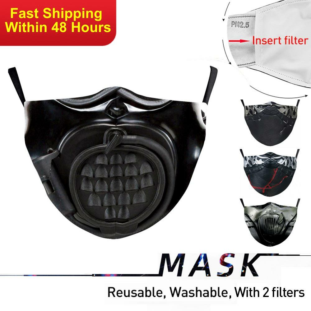 Zawaland Marvel Adult Mouth Mask Protective Filter Masks Washable Proof Flu Facemask Reusable Windproof Mouth-muffle
