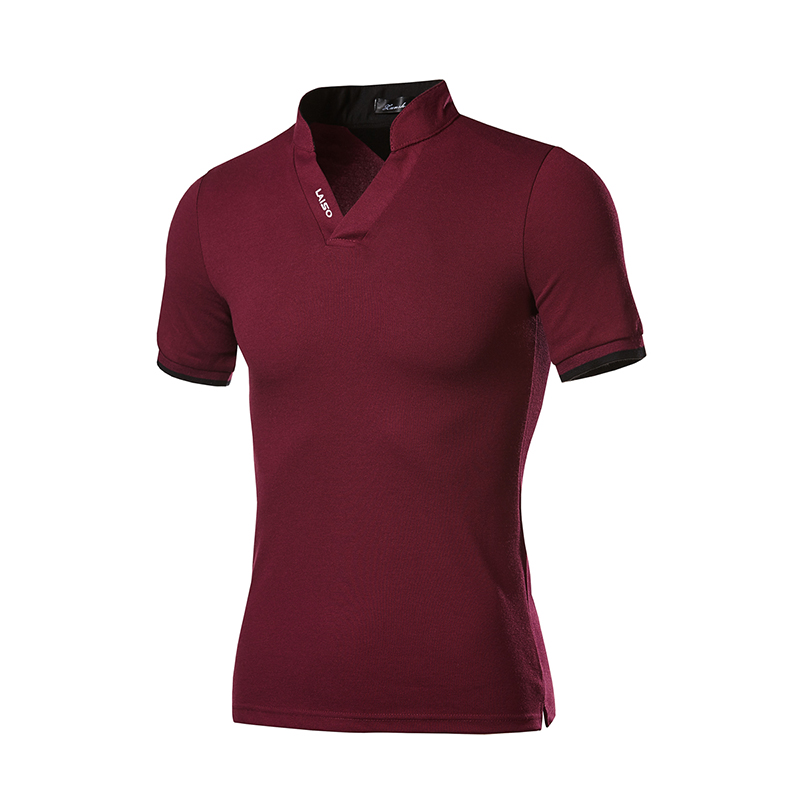 2019 SUMMER Short Sleeve Mens Polo Shirts Brand Good Quality Slim Fit Mens Polo SHIRT HSJ04