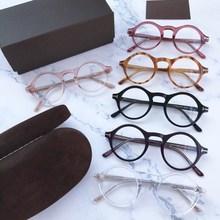 Новинка, круглые Молодежные женские и мужские очки по рецепту, оптический бренд tom 5526, оправа для мужчин, Gafas, очки для глаз, очки oculos