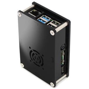 Image 4 - PMMA acrylic CASE BOX for Raspberry PI 4 Model B 1GB/2GB/4GB plastic enclosure housing shell cover of Raspberry PI 4 B PI4 4B