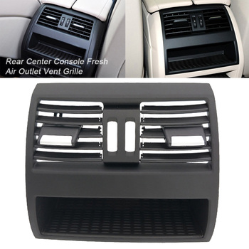 For BMW 5 Series F10 F18 1pc Black Air Vent Outlet Grille Cover Moulding Support 5 Series F10 F18 Car Accessories Parts image