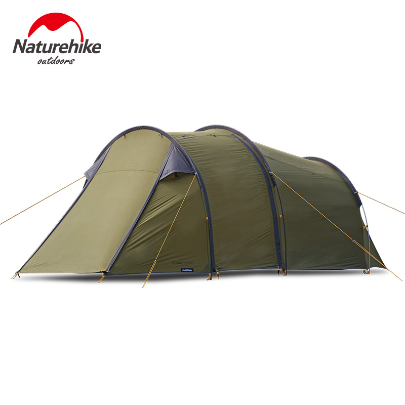 Naturehike Camping Tent Motorcycle 2 Persons 40D Nylon Silicone Riding Tent Rainproof Camping Outdoor Windproof Camping Tent image