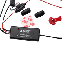 Universal 3in1 Car AM/FM/DAB Radio Signal Amplifier Station Booster Amplification Line Auto Accessories