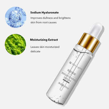 Skin Brightening Whitening Lightening Facial Serum Glutathione Vitamin C Dark Spot Black Dots Melasma Freckles Essence for Face