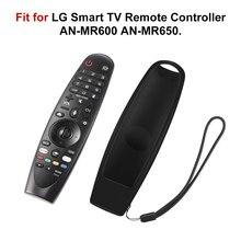 Capa protetora de silicone para lg tv, oled inteligente para lg AN-MR600 AN-MR650 AN-MR18BA, controle remoto mágico