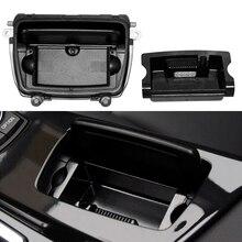 New Black Automobile Ashtrays Car Center Console Ashtray Assembly Ash Box Cover For BMW 5 Series F10 F11 F18 520 51169206347