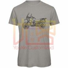 2019 verão t camisa dos homens o-pescoço camisa r1200gs aventura 90 anos 2013 inspirado motocicleta arter engraçado t camisas