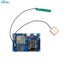 Wifi Module ESP8266 ESP-12S A9G GSM GPRS+GPS IOT Node with Active GSP GSM Antenna WiFi+Cellular+GPS tracking new arrival sim808 gprs gsm module gsm and gps two in one function module quad band with gsm antenna and gps antenna diy kit