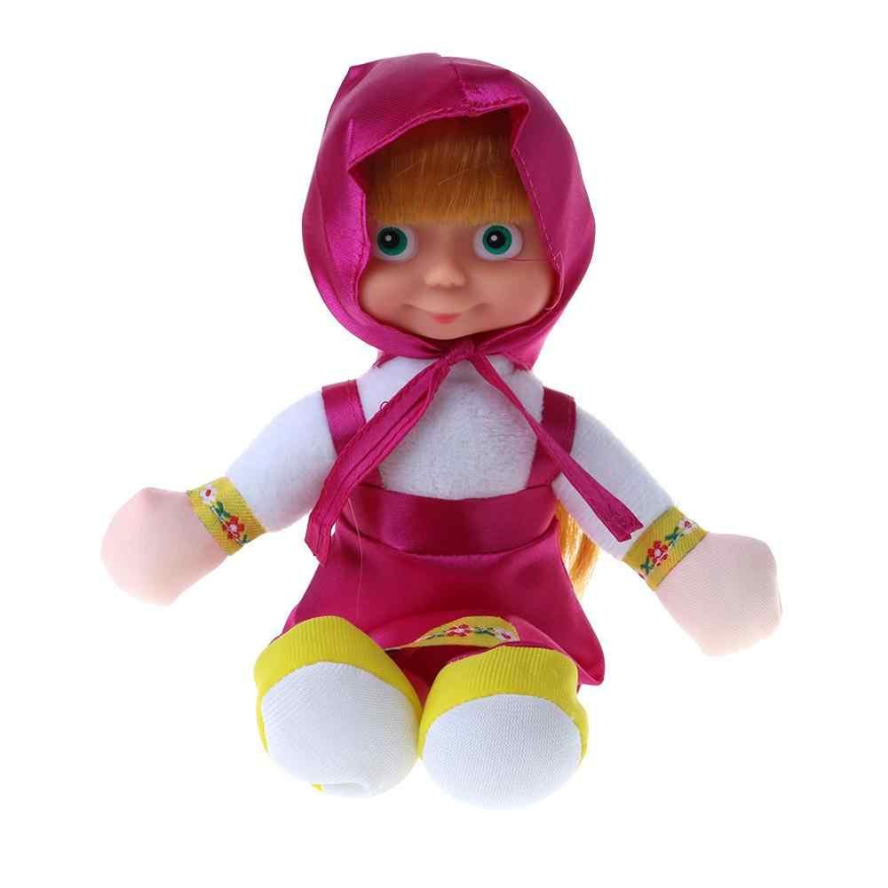 Briquedos ของขวัญวันเกิดยอดนิยมรัสเซีย Masha และตุ๊กตาหมีตุ๊กตาของเล่น BAL