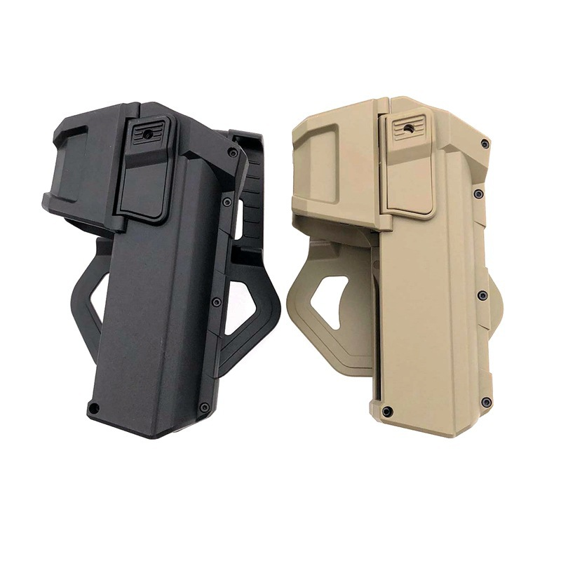 New Tactical Pistol Holsters For Glock 17 With Flashlight Or Laser Mounted Right Hand Waist Belt Gun Holster