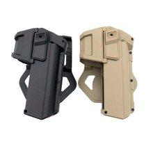 Nova pistola tática holsters para glock 17 com lanterna ou laser montado mão direita cinto arma coldre
