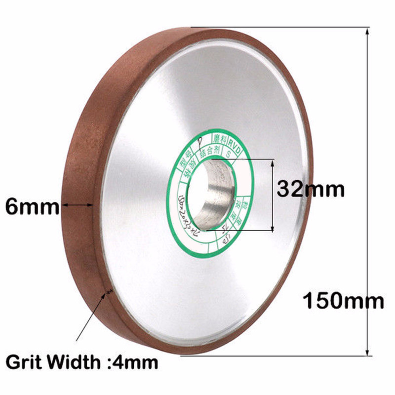 3 Inch Cup Diamond Grinding Wheel Abrasive Tool for Carbide Metal Grinder 150#