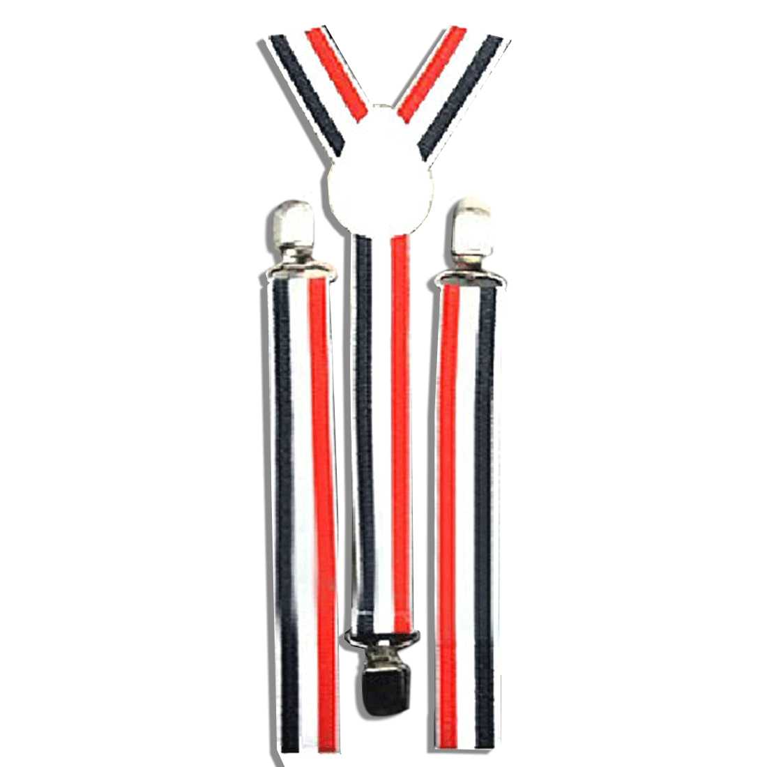 New Mens Womens Unisex Clip-on Suspenders Elastic Y-Shape Adjustable Strap Dress Accessories Strap Apparel Hot
