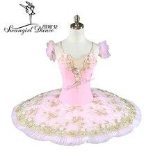 women professional ballet tutu pink girl kids classical costumesBT8991