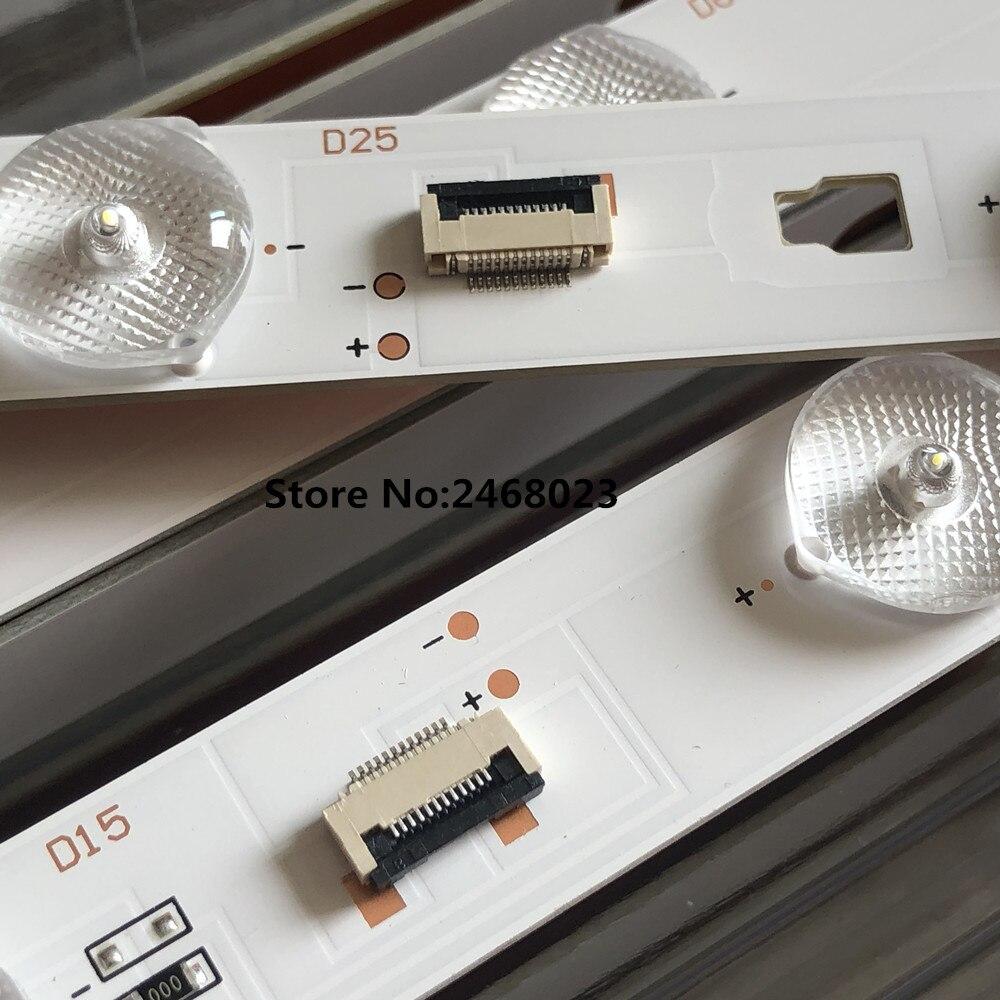 LED Backlight Strip 10 Lamp For LE32TE5 LED315D10-ZC14 LE32D8810 LE32D8810 LD32U3100 LE32F3000W LED315D10-ZC14-01(D) 02(D) 03(D)