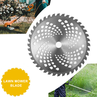 40T Grass Trimmer Blades Mowing Blade Cutting Blade for Lawn Mower Weed Lawnmower Parts Garden Tool Cutter Sharp