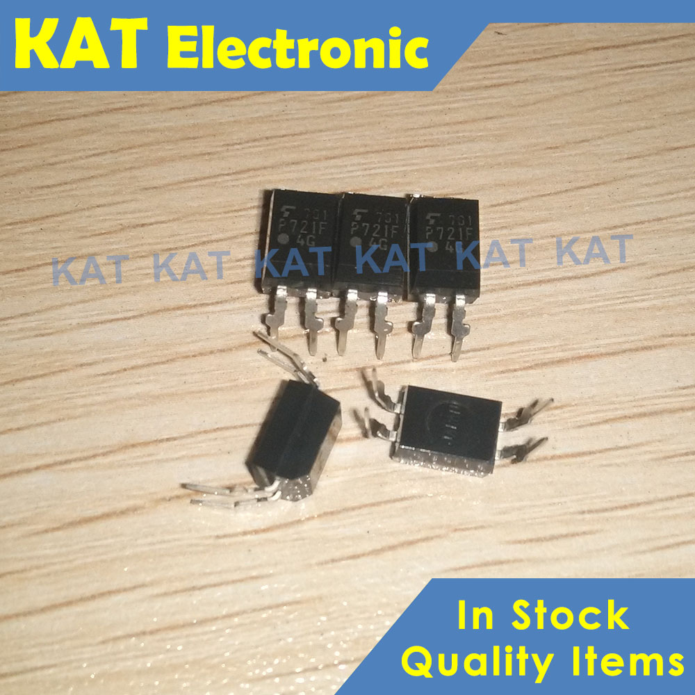 5PCS/Lot TLP721F P721F TLP721F-1 DIP-4 Photocoupler GaAs IRED & Photo-Transistor IC OFFICE MACHINE SWITCHING POWER SUPPLY
