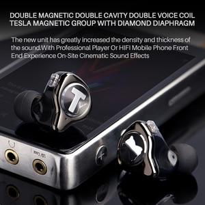 Image 5 - TFZ MONICA Hifi  In Ear Earphones Moving Circle Headset Metal Stereo Headphone Detachable Design  for T2 S2