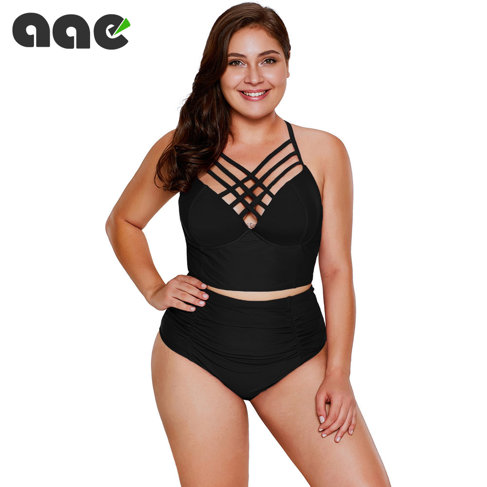 <font><b>Sexy</b></font> <font><b>Bikini</b></font> Push Up Swimwear Women biquinis feminino 2020 mujer Swimsuit <font><b>tanga</b></font> Swimming Bathing Suit Plus Size <font><b>Bikinis</b></font> Set XXXL image