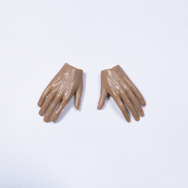 1/6 Scale Man Variety Hands Hand Type Male Bendable Placed Hand Model Figure Fit For 12 Action Figures Body Doll Accessories image
