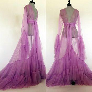 Женская одежда для сна, банные халаты, ночная рубашка, длинная Пижама, красочное интимное белье