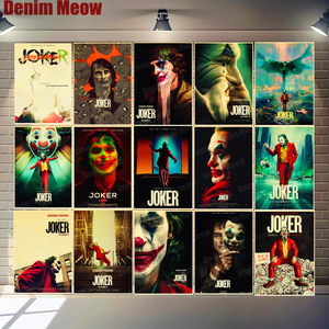 JOKER Retro Plaque Joker Origi