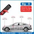 Автомобильный резиновый уплотнитель для двери, большой тип D, универсальная шумоизоляция, Epdm Автомобильная резиновая полоска, водонепрониц...
