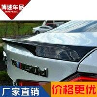 Ajuste para BMW X6 f16 Desempenho modificado de fibra de carbono da asa traseira com spoiler traseiro asa