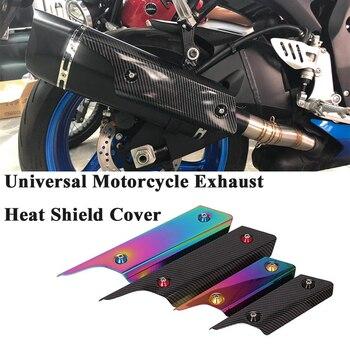 Univesal-silenciador de tubo de Escape de motocicleta, modoficado, cubierta de protección térmica, Protector de calor, antiescaldado para ATV K8 TMAX