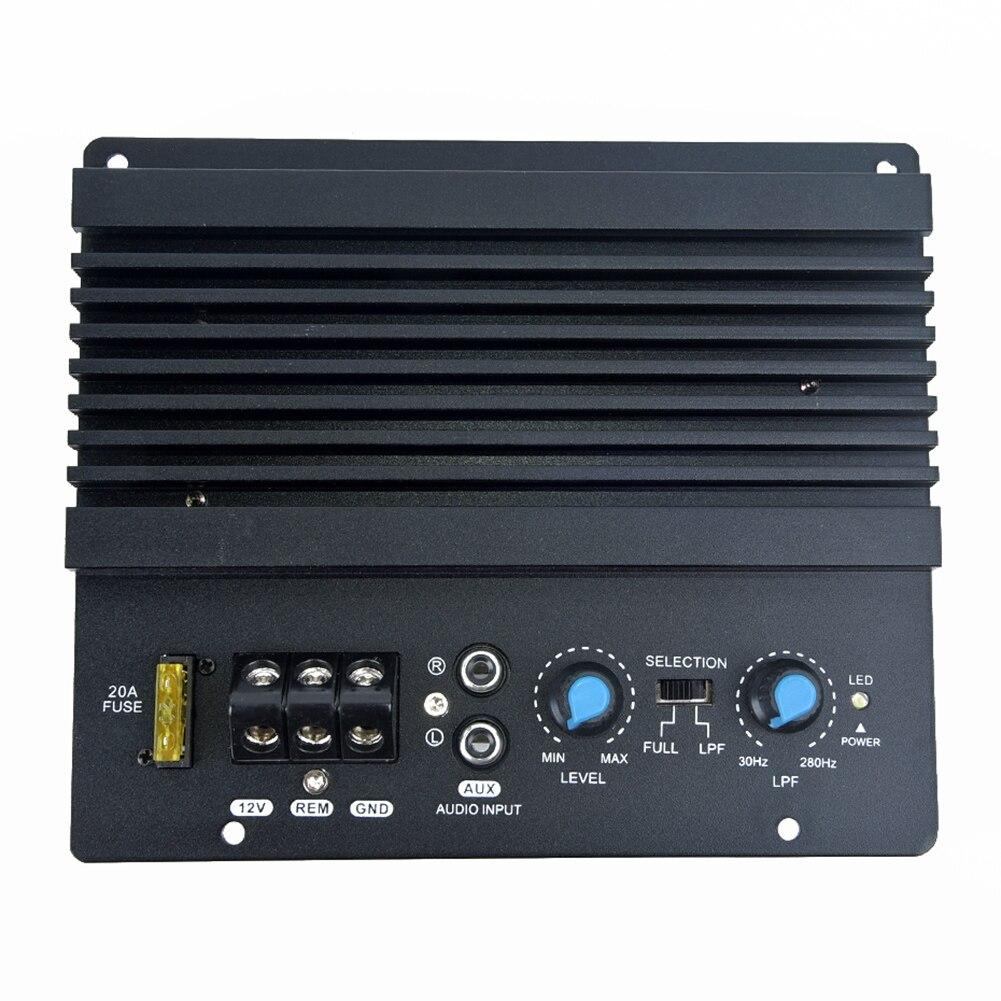 Accessories Amplifier Board Parts Subwoofer 12V 28 160KHz 17*14.6cm Black Replacement 1000W Mono Car Audio High Power|Mono Amplifiers| - AliExpress