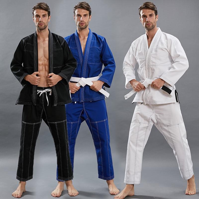 Brazilian Kimono Jiu Jitsu Women 2020 New Training Kids Adult BJJ GI MMA Custome 3 Colors Kimonos For Jiu-Jitsu Men