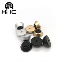 Aluminium Cnc Hifi Audio Luidspreker Spikes Aluminium Chassis Case Voet Pad Anti Shock Schokdemper Isolatie Nail