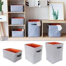 Новая Модная хлопковая льняная складная корзина для белья Водонепроницаемая корзина ёмкость для хранения грязной одежды коробка корзина игрушки корзина Oragnizer M/L/XL