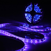 1pcs UV LED Strip Light 12V DC SMD 3528 1M Non-Waterproof Purple Flexible UV Tape