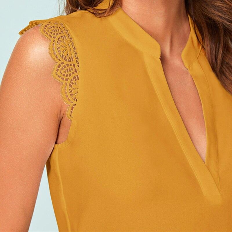 V-Neck Short Sleeve Tops