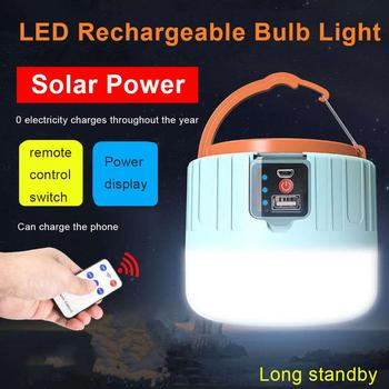 jujingyang led camping light rechargeable tent camping light emergency work light 60/90/280W Camping Lantern Solar LED Camping Light Mini Portable Lantern Tent Camping Lamp DC/Solar Rechargeable Emergency Light