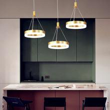 Светодиодная Подвесная лампа в скандинавском стиле с дистанционным