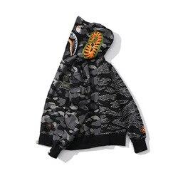 Japanischen stil Beliebte Marke Teenager Gedruckt Hoodie Mode Heißer Verkauf Tiger Muster Zipper Mantel