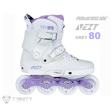 100% original 2021 powerslide próximo trinity quadro patins inline roxo 4*80 3*100mm rua corrida patines patinação livre rolo
