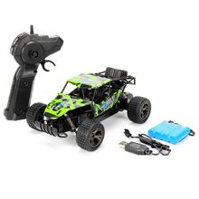 цена на 1:20 2.4G 2WD RC Car High Speed Racing Truck Off-Road Remote Control Crawler R9UE