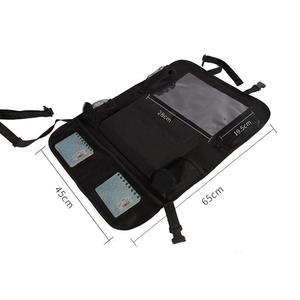 Image 5 - รถ Backseat Organizer Kick Mats ที่นั่งป้องกันกลับกับกระเป๋าเก็บที่ชัดเจนสำหรับของเล่นเด็กขวดเครื่องดื่มยานพาหนะอุปกรณ์เสริม