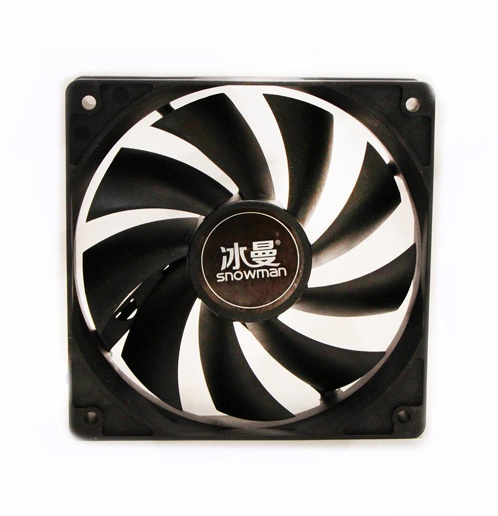 Охлаждающий вентилятор для ПК Snowman, 120 мм