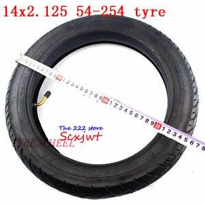 Image 4 - Bánh 14 inch Lốp Xe 14X2.125/54 254 lốp ống bên trong phù hợp với Nhiều Khí Điện Xe Tay Ga và Xe Máy E Xe Đạp 14*2.125 lốp xe 14x2.125
