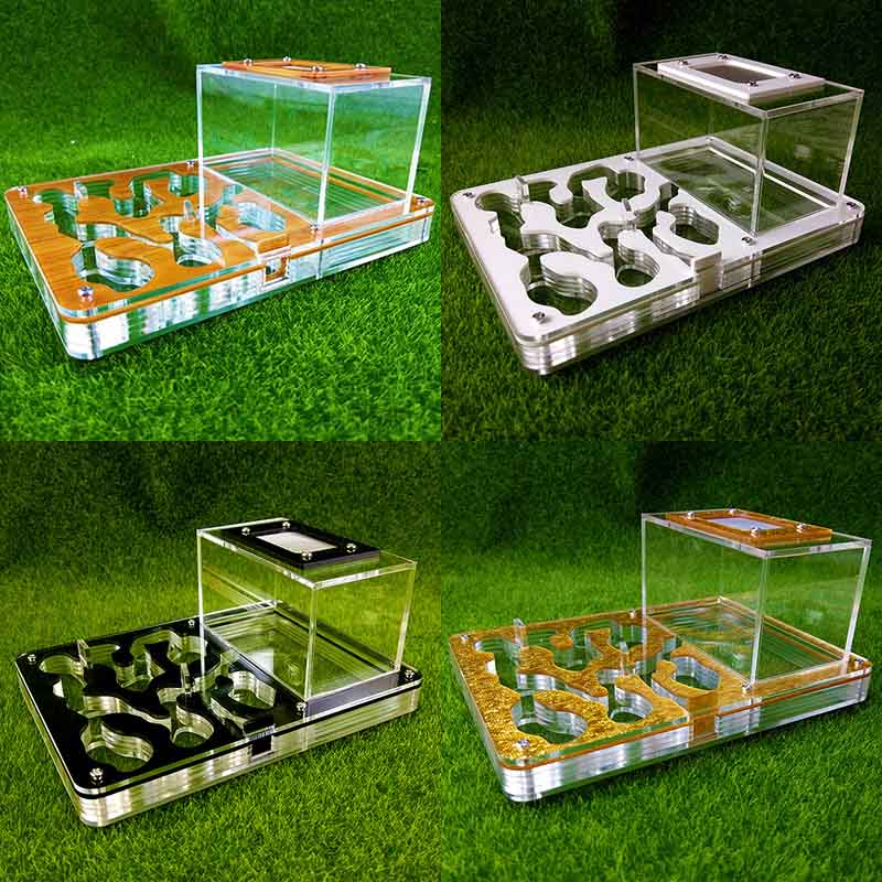 New Acrylic Flat Ants Nesting Ant Farm Small Breeding Pets Terrarium Reptile Insect Supplies Gifts